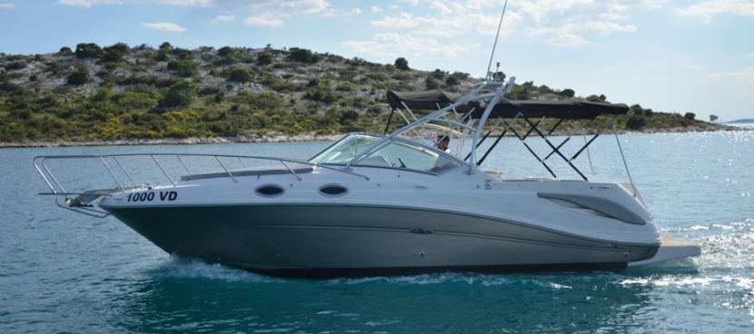 Sea Ray 275 - NEUE MOTOR